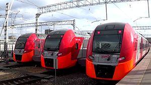 Типы поездов и маршруты