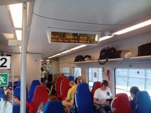 Специальные тарифы и акции в поезде Ласточка